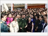 """Phụ nữ Quân đội phát huy truyền thống, cống hiến tài năng, xứng danh """"Bộ đội Cụ Hồ"""""""