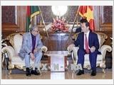 Chủ tịch nước Trần Đại Quang hội kiến với Tổng thống Bangladesh