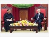 Tổng Bí thư Nguyễn Phú Trọng tiếp; Chủ tịch Quốc hội Nguyễn Thị Kim Ngân đón, hội đàm với Chủ tịch Quốc hội Sri Lanka