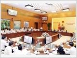 Khai mạc Phiên họp thứ 24 Ủy ban Thường vụ Quốc hội khóa XIV
