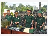 Bộ Tham mưu Quân khu 7 đẩy mạnh xây dựng chính quy, mẫu mực