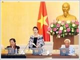 Ủy ban Thường vụ Quốc hội hoàn thành chương trình Phiên họp thứ 24
