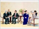Chủ tịch nước Trần Đại Quang hội kiến Nhà vua, Hoàng hậu Nhật Bản và Chủ tịch Thượng viện Nhật Bản