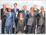 Thủ tướng Nguyễn Xuân Phúc dự Hội nghị cấp cao G7 mở rộng