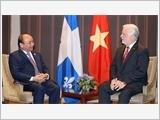 Việt Nam tích cực đóng góp sáng kiến ứng phó biến đổi khí hậu; thúc đẩy quan hệ Đối tác toàn diện với Ca-na-đa