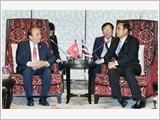Thủ tướng Nguyễn Xuân Phúc hội kiến Thủ tướng Lào và Thủ tướng Thái-lan