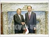Chủ tịch nước Trần Đại Quang hội kiến Chủ tịch Hạ viện Nhật Bản; tiếp Chủ tịch Cơ quan hợp tác quốc tế Nhật Bản (JICA)