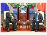 Chủ tịch nước Trần Đại Quang tiếp Tổng thống Cộng hòa Na-u-ru B.Oa-ca