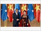 Chủ tịch Quốc hội Nguyễn Thị Kim Ngân đón, hội đàm với Chủ tịch Quốc hội Liên bang Mi-crô-nê-xi-a