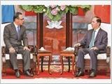 Chủ tịch nước Trần Đại Quang tiếp Chủ tịch Quốc hội Liên bang Mi-crô-nê-xi-a