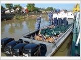 Vùng Cảnh sát biển 1 thực thi pháp luật về chống buôn lậu, gian lận thương mại