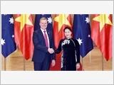 Tổng Bí thư Nguyễn Phú Trọng tiếp; Chủ tịch Quốc hội Nguyễn Thị Kim Ngân đón, hội đàm với Chủ tịch Hạ viện Australia T.Smith