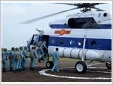 Trung tâm Quốc gia huấn luyện tìm kiếm cứu nạn đường không nâng cao năng lực thực hiện nhiệm vụ