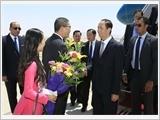 Chủ tịch nước Trần Đại Quang và Phu nhân thăm cấp nhà nước tới Ai Cập