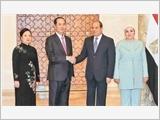 Chủ tịch nước Trần Đại Quang hội đàm với Tổng thống; hội kiến Thủ tướng, Chủ tịch Quốc hội Ai Cập