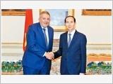 Chủ tịch nước Trần Đại Quang kết thúc tốt đẹp chuyến thăm cấp nhà nước tới Ai Cập