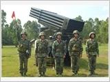 """""""Rèn đức, luyện tài"""" theo phong cách làm việc Hồ Chí Minh ở Lữ đoàn Pháo phản lực 204"""