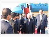 Tổng Bí thư Nguyễn Phú Trọng đến Thủ đô Budapest, bắt đầu thăm chính thức Hungary