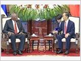 Tổng Bí thư, Chủ tịch nước tiếp; Thủ tướng, Chủ tịch Quốc hội hội kiến Phó Chủ tịch Cu-ba