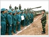 Quân khu 1 đẩy mạnh xây dựng lực lượng dân quân tự vệ