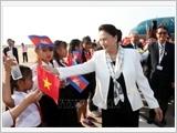 Chủ tịch Quốc hội Nguyễn Thị Kim Ngân tới Campuchia, bắt đầu tham dự APPF- 27
