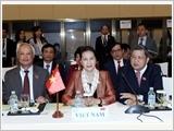 Chủ tịch Quốc hội Nguyễn Thị Kim Ngân dự phiên bế mạc Hội nghị APPF-27 tại Cam-pu-chia