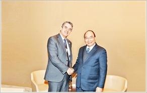 Thủ tướng Nguyễn Xuân Phúc bắt đầu các hoạt động tại WEF Ða-vốt 2019
