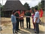 Học tập và làm theo lời Bác, Bộ đội Biên phòng Quảng Nam tăng cường cán bộ giúp các xã biên giới