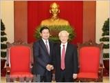 Thủ tướng Lào Thoong-lun Xi-xu-lít kết thúc tốt đẹp chuyến thăm chính thức Việt Nam