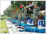 Tỉnh Hà Nam xây dựng lực lượng dân quân tự vệ vững mạnh, rộng khắp