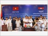 Vùng 5 Hải quân tăng cường công tác đối ngoại quốc phòng
