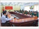 Kiên Giang tăng cường xây dựng khu vực phòng thủ