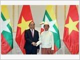 Thủ tướng Nguyễn Xuân Phúc hội kiến các nhà lãnh đạo Mi-an-ma