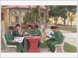 Công tác tuyên truyền, phổ biến, giáo dục pháp luật ở Lữ đoàn Thông tin 601