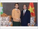 Thủ tướng Nguyễn Xuân Phúc kết thúc tốt đẹp chuyến thăm chính thức Mi-an-ma