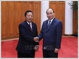 Thủ tướng tiếp các Bộ trưởng Quốc phòng Campuchia và Lào