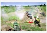 Sư đoàn 9 tập trung nâng cao chất lượng tổng hợp, sức mạnh chiến đấu