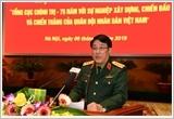 """""""Tổng cục Chính trị - 75 năm với sự nghiệp xây dựng chiến đấu và chiến thắng của Quân đội nhân dân Việt Nam"""""""