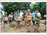 Toàn quân tiếp tục phát huy vai trò nòng cốt trong thực hiện nhiệm vụ ứng phó sự cố, thiên tai và tìm kiếm cứu nạn