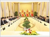 Quốc vương Brunei Darussalam kết thúc chuyến thăm cấp Nhà nước tới Việt Nam