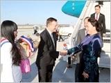 Chủ tịch Quốc hội Nguyễn Thị Kim Ngân bắt đầu thăm chính thức Cộng hòa Pháp