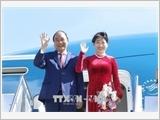 Thủ tướng Nguyễn Xuân Phúc lên đường thăm chính thức Romania và Cộng hòa Séc