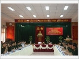 Hội nghị giữa Tạp chí Quốc phòng toàn dân với bạn đọc, cộng tác viên tại Bộ Tư lệnh Quân khu 5