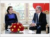 Chủ tịch Quốc hội Nguyễn Thị Kim Ngân hội kiến, hội đàm với các nhà lãnh đạo Pháp