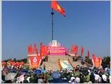 """Lễ Thượng cờ """"Thống nhất non sông """" tại đôi bờ Hiền Lương - Bến Hải"""