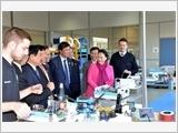 Chủ tịch Quốc hội Nguyễn Thị Kim Ngân kết thúc chuyến thăm, làm việc với Nghị viện Châu Âu
