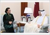 Chủ tịch Quốc hội Nguyễn Thị Kim Ngân hội kiến Thủ tướng Qatar; Chủ tịch Duma quốc gia Nga