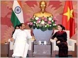 Chủ tịch Quốc hội tiếp Phó Tổng thống, Chủ tịch Thượng viện Cộng hòa Ấn Độ
