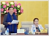 Bế mạc Phiên họp thứ 34 của Ủy ban Thường vụ Quốc hội