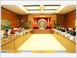 Chủ tịch Quốc hội Nguyễn Thị Kim Ngân đón, hội đàm với Chủ tịch Thượng viện Bhutan